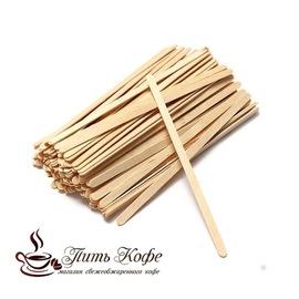 Размешиватели одноразовые деревянные (500 шт.)